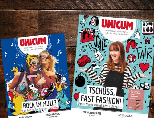 UNICUM bleibt das meistgelesene kostenlose Karrieremagazin!