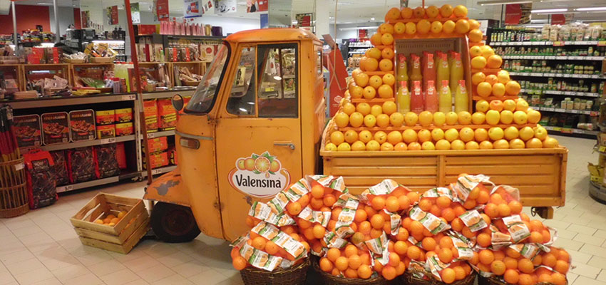 Beispiel einer verkaufsfördernden Maßnahme im Einzelhandel